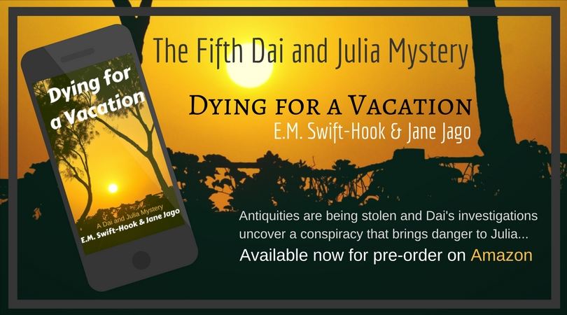 Coming Soon – Dying for a Vacation