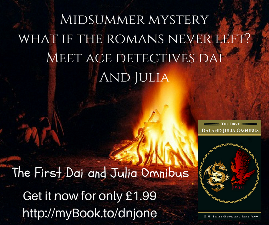 Midsummer Mysteries. What if the Romans never left?