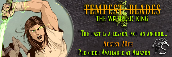 Author Feature – Tempest Blades: The Withered King by Ricardo Victoria