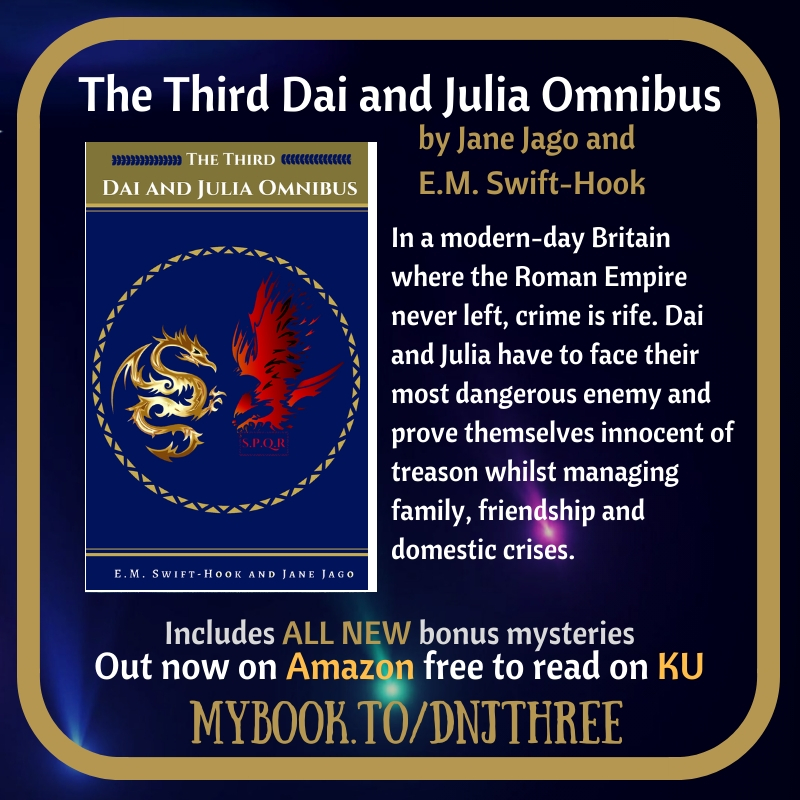 The Third Dai and Julia Omnibus is out Today!